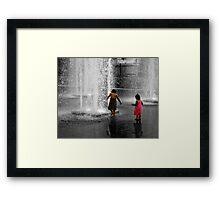 Water::Fun Framed Print