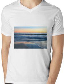 Sunset Light Mens V-Neck T-Shirt