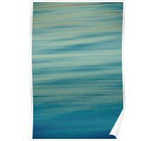 Ocean Abstract Poster
