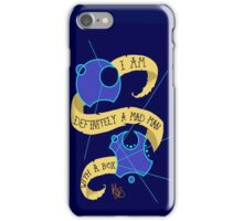Mad Man With A Box Gallifreyan iPhone Case/Skin