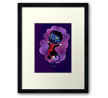 Chibi Nightcrawler Framed Print