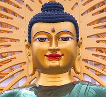 Buddha head by Bigart32
