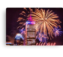 Happy Fourth of July from Boston, MA Canvas Print