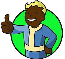Vault Boy 2 - Fallout by Magnate