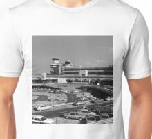 BW Germany Berlin The Tegel Airport 1970s Unisex T-Shirt