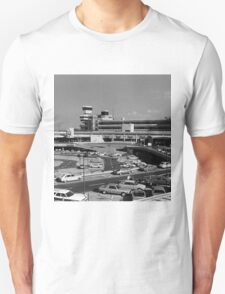 BW Germany Berlin The Tegel Airport 1970s T-Shirt