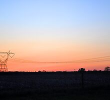 Wires Crossing by Jessica Snyder