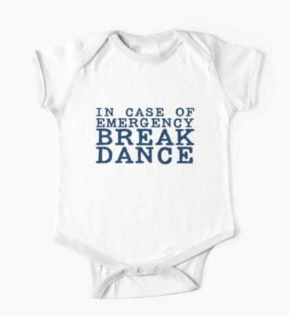 in case of emergency break dance Kids Clothes