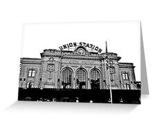 Union Station in Denver Greeting Card