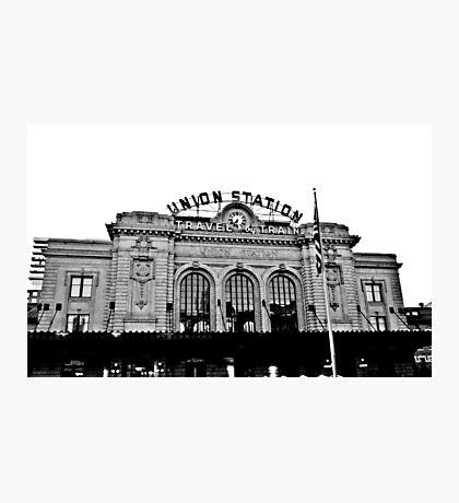 Union Station in Denver Photographic Print