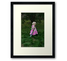 Nobody Will Play With Me Framed Print