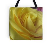 Lemon Meringue Rose Tote Bag