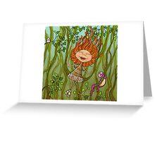jungle milli Greeting Card