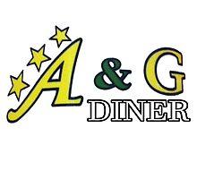 Deadly Premonition - A&G Diner by red-leaf