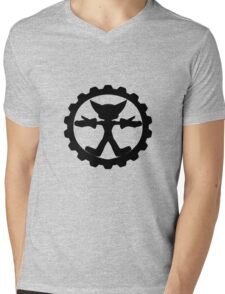 Ratchet and Clank's shield logo Mens V-Neck T-Shirt
