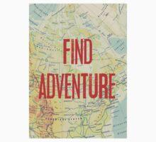 Find Adventure Baby Tee