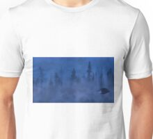 UFO In the Mist Unisex T-Shirt