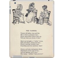 Miniature Under the Window Pictures & Rhymes for Children Kate Greenaway 1880 0027 The Tabbies iPad Case/Skin