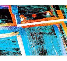 Neon Door Photographic Print