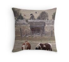 A Painted Pair Throw Pillow