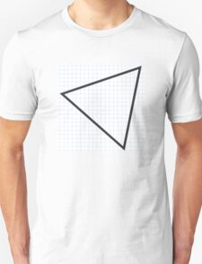 grid triangle T-Shirt