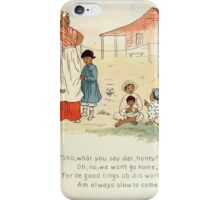 The Glad Year Round for Boys and Girls by Almira George Plympton and Kate Greenaway 1882 0055 Good Things of This World iPhone Case/Skin