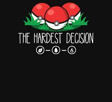 The Hardest Decision Womens Fitted T-Shirt