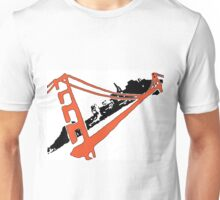 San Francisco Giants Stencil Team Colors Unisex T-Shirt