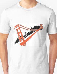 San Francisco Giants Stencil Team Colors T-Shirt
