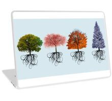 Colourful Tree Design 1 Laptop Skin