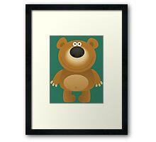 Friendly big bear Framed Print