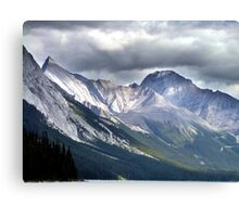 Rocky Mountain Peaks Canvas Print