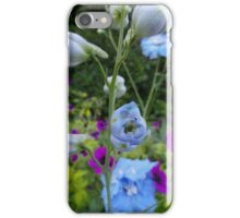 Flower Bed Buds & Blossoms iPhone Case/Skin