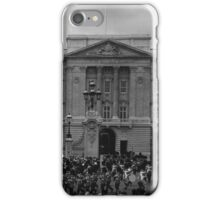 BW UK England London Old Guard Buckingham Palace 1970s iPhone Case/Skin
