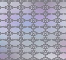 Soft Ornate Grid Pattern by charmarose