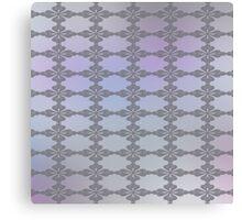 Soft Ornate Grid Pattern Canvas Print