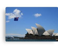 Australia Day 2008 Canvas Print