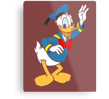 Donald Duck without borders Metal Print
