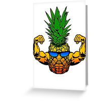 Pineapple Swole Greeting Card
