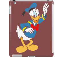 Donald Duck without borders iPad Case/Skin
