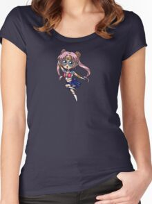 Chibi Proto Moon Women's Fitted Scoop T-Shirt
