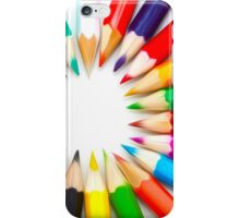 Color Pencils iPhone Case/Skin