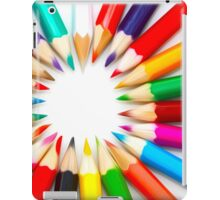 Color Pencils iPad Case/Skin