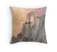rocks by rootcat Throw Pillow