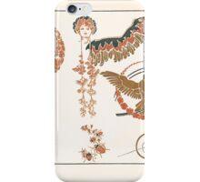 Maurice Verneuil Georges Auriol Alphonse Mucha Art Deco Nouveau Patterns Combinaisons Ornementalis 0047 iPhone Case/Skin