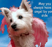 May an angel always be by your side by Pascal Inard