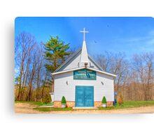 Little Country Chapel Metal Print