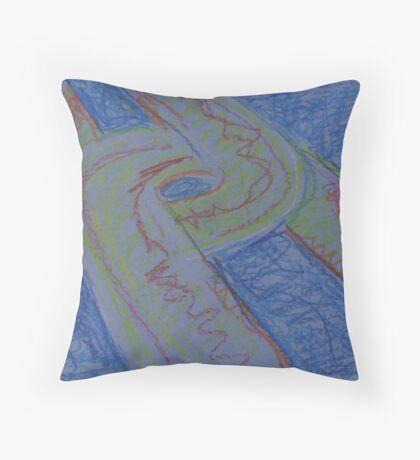 UFO HWY(SKETCH - PASTELS)(C2015) Throw Pillow