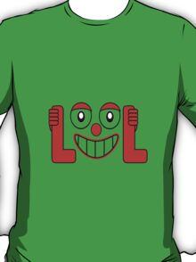 Laughing Out Loud Illustration T-Shirt