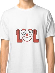 Laughing Out Loud Illustration Classic T-Shirt